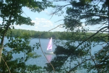 Stone Lake sailboat #2