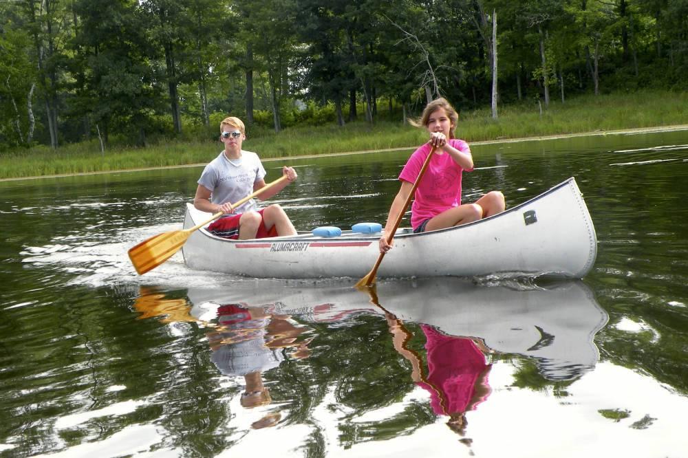 Canoeing Little Ripley Shover