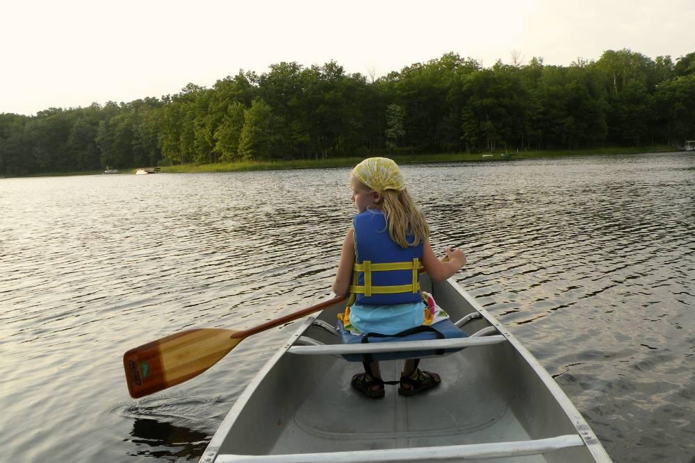 Canoeing Shover
