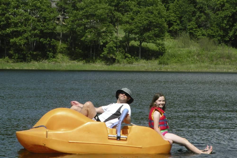 Paddleboat Shover