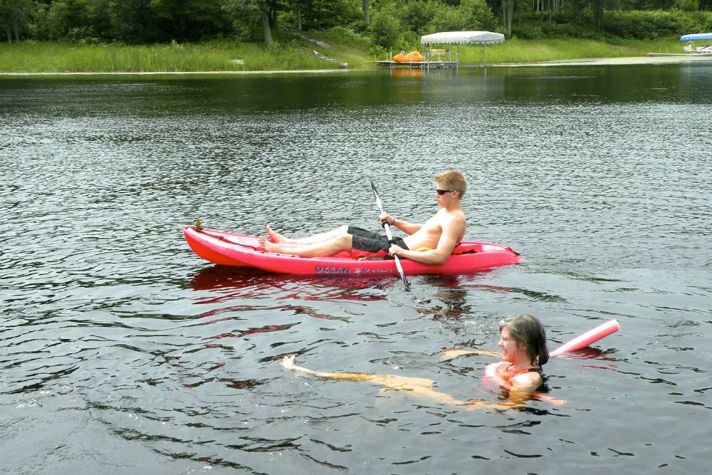 fun in lake Shover