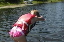 Diving Shover