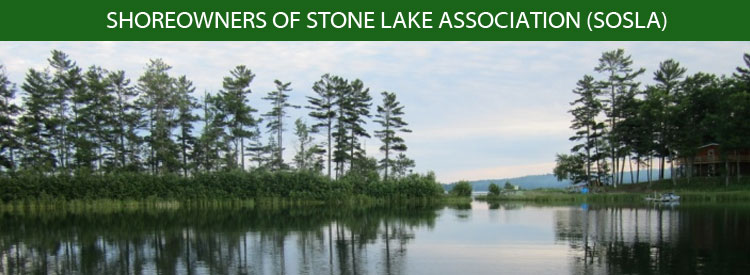 SHOREOWNERS OF STONE LAKE ASSOCIATION (SOSLA)
