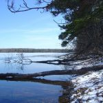 Ice Out Stone Lake